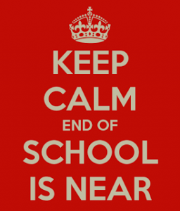 Keep Calm End of School